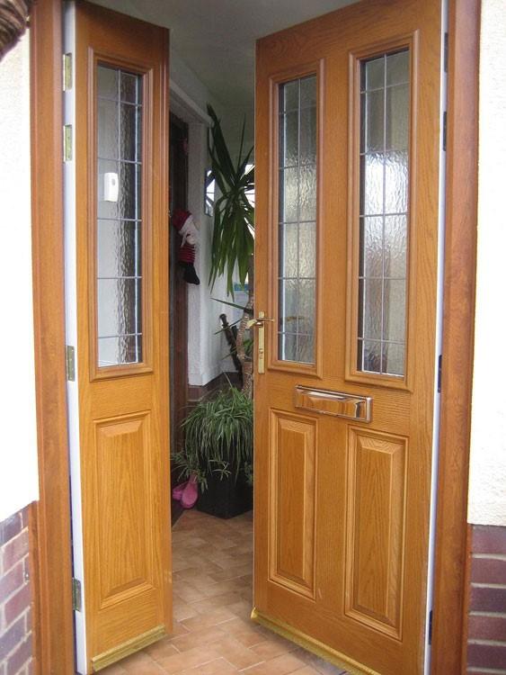 Oak Composite Double Door