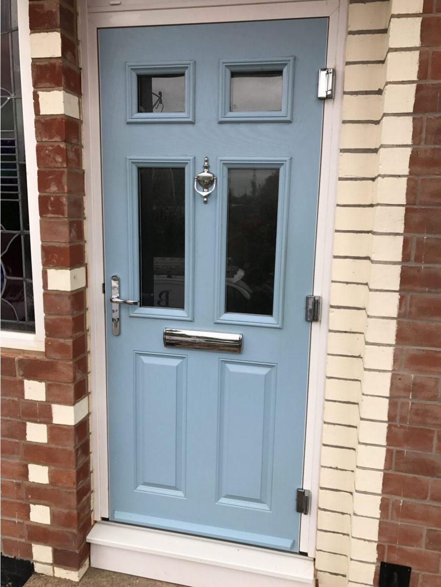 Duck Egg Blue Composite Door