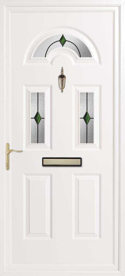 Inverted Kings Panel Door