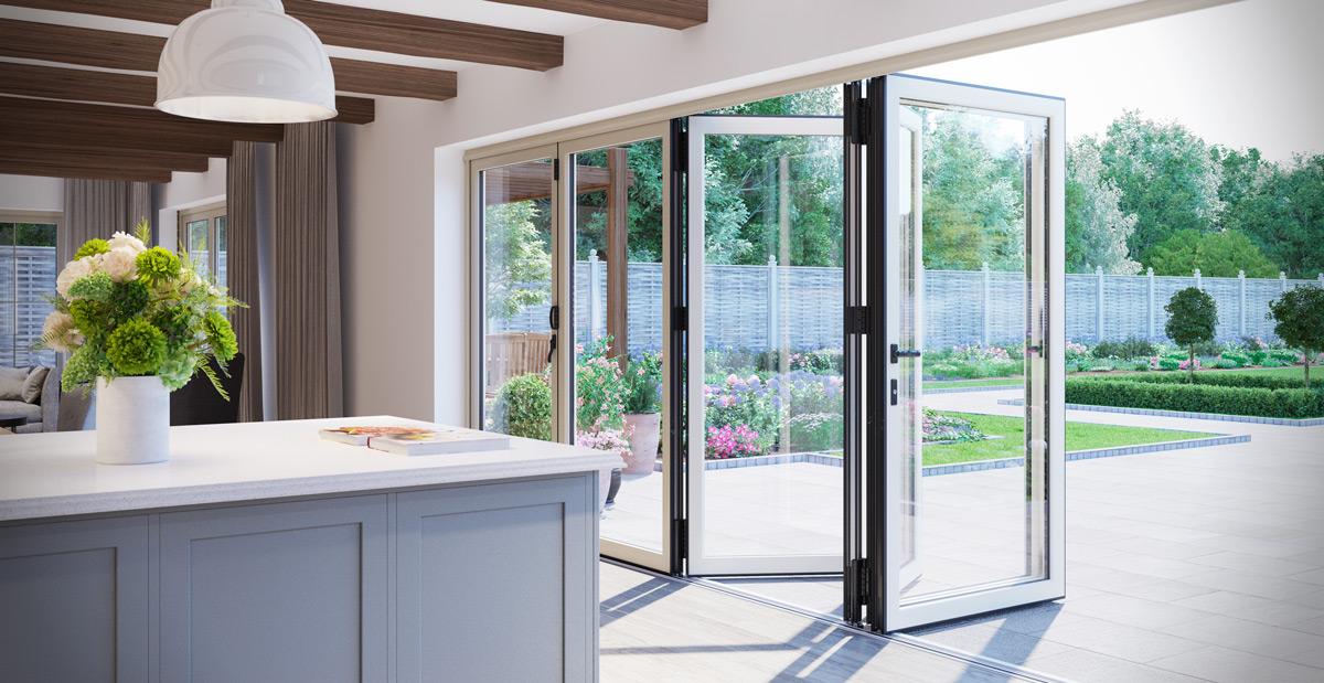 Warmcore Bi-Fold Door