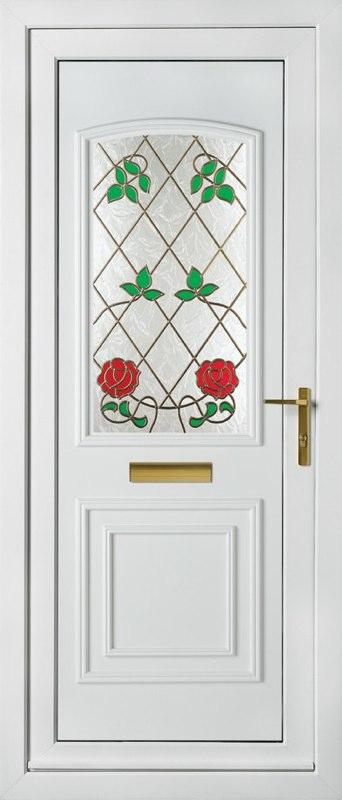 White Panel Door