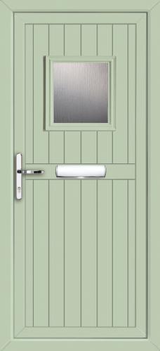Green Cottage Door