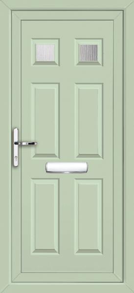 Green Panel Door