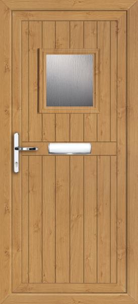 Irish Oak Panel Door