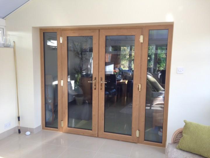 Irish Oak French Doors