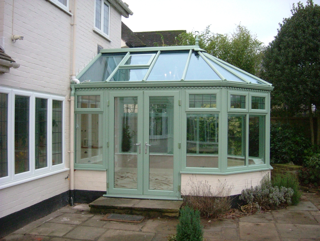 Green Victorian Conservatory