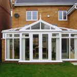 Cream Gable Fronted
