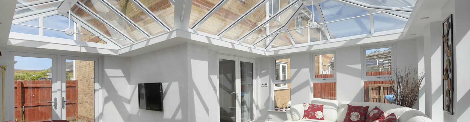 Glass Roof Conservatory