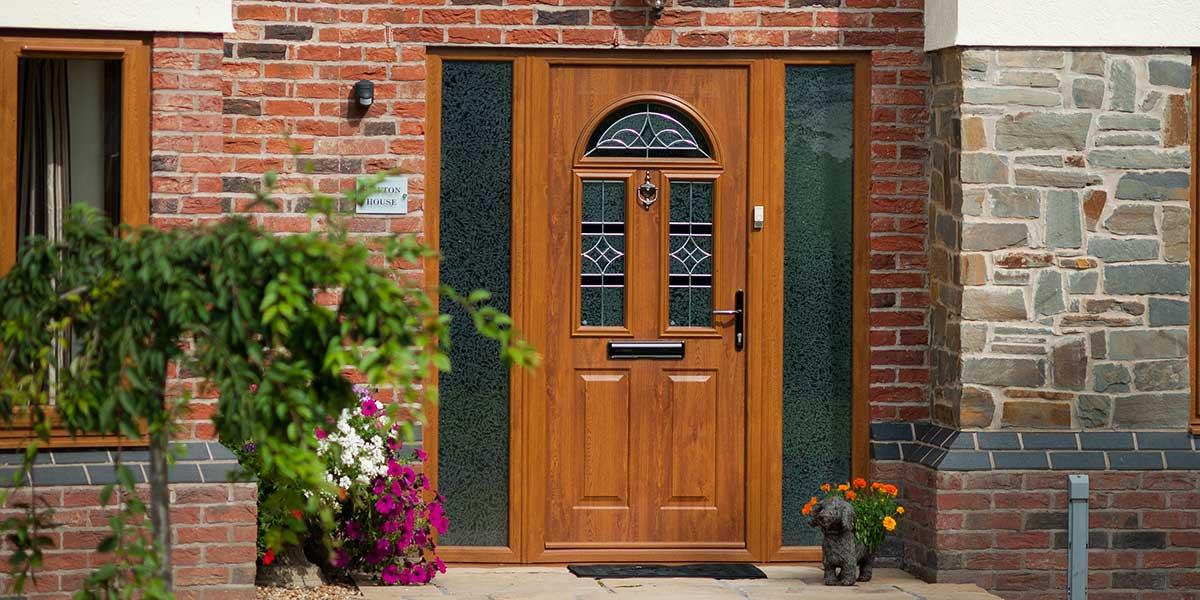 Oak Composite Door External